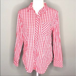 Vineyard Vines gingham button-up shirt